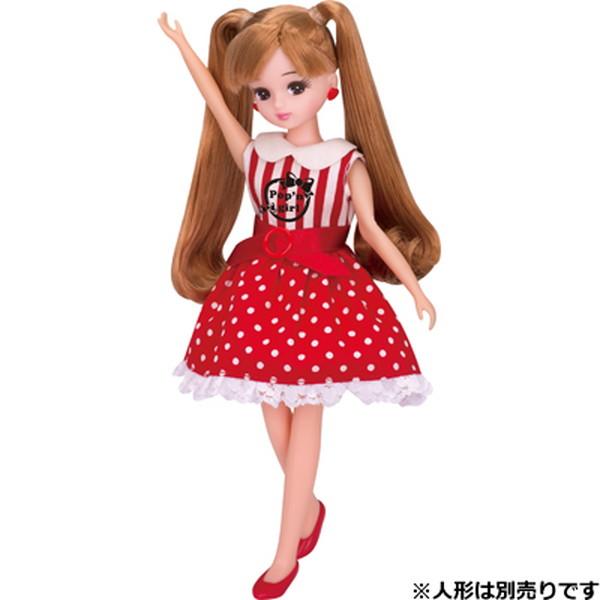 キャラクター リカちゃんのLW-03 ポップンガールワンピ
