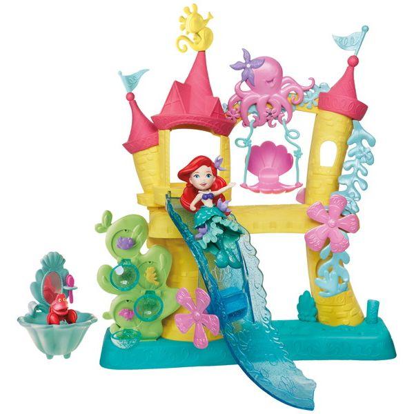 キャラクター ディズニーのリトルキングダム アリエルの海のお城