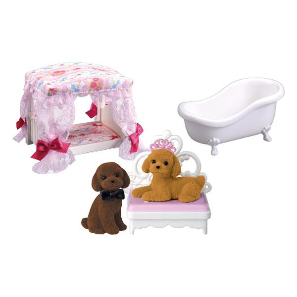 【リカちゃん】LF-12 プリンちゃんのゆめみる家具セット