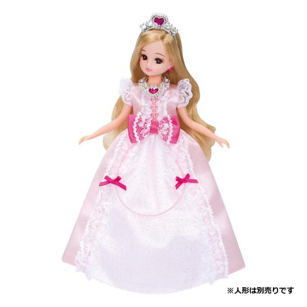 【リカちゃん】LW-12 プリンセスピンクリボン