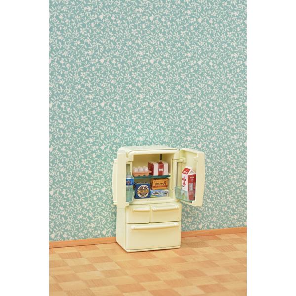 【シルバニアファミリー】【販売開始日7月8日】冷蔵庫セット(5ドア)