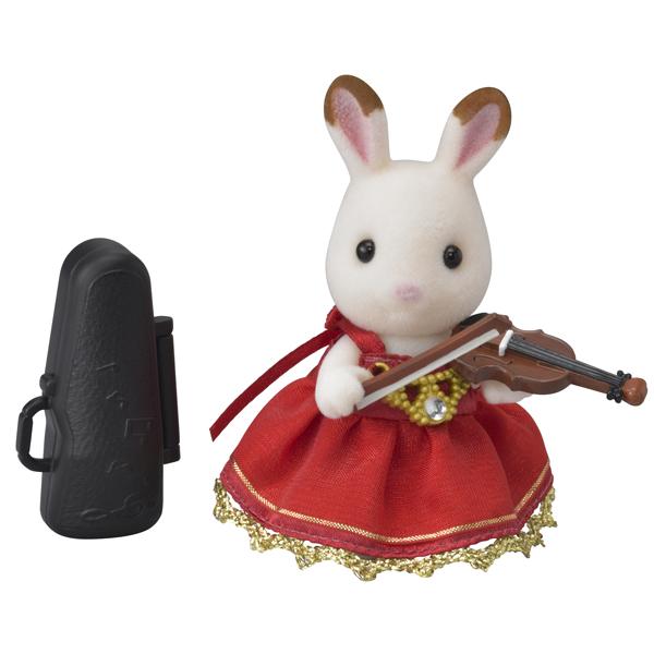 【シルバニアファミリー】街の音楽会セット バイオリン