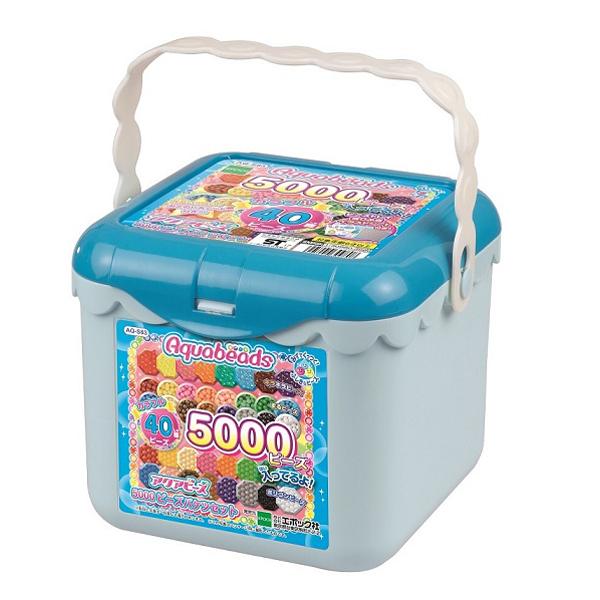 【アクアビーズ】アクアビーズ 5000ビーズバケツセット