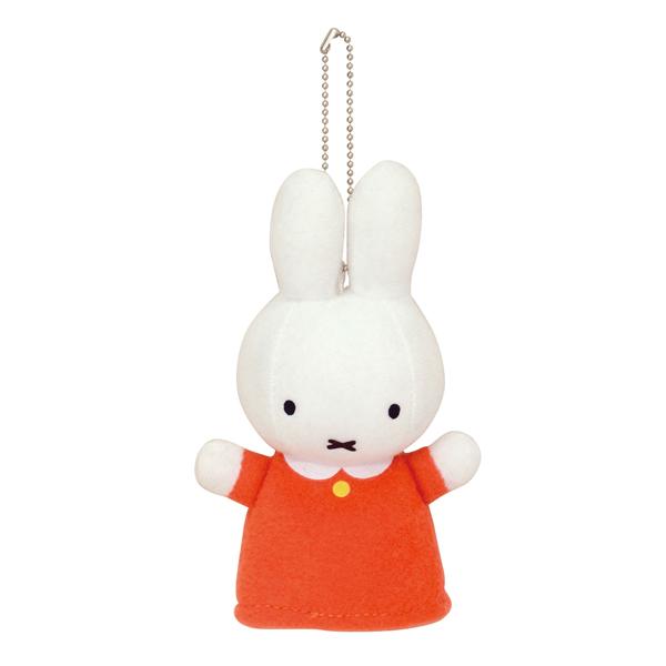 【ミッフィー】miffy フィンガーパペット オレンジ