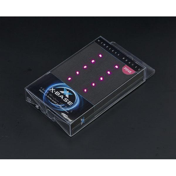 【クロスベース】【12月2日発売】クロスベース ワイヤレスLED ピンクS