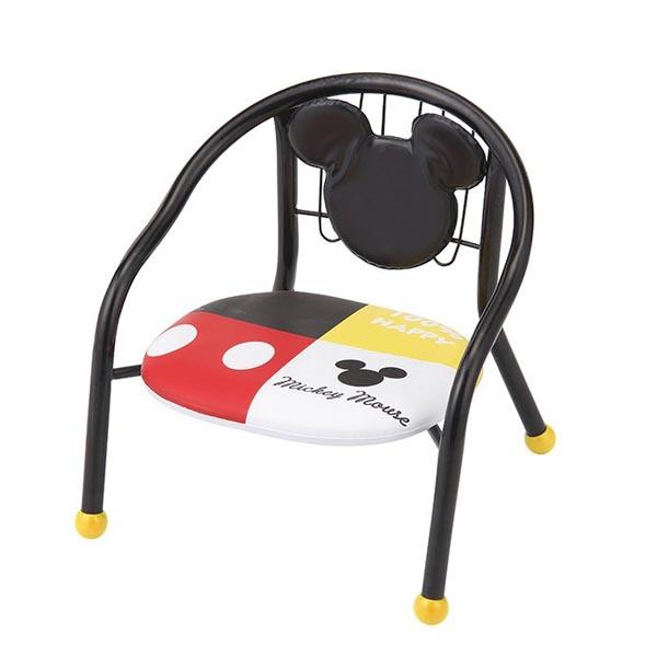 パイプイス背もたれシート付(ミッキーマウス)