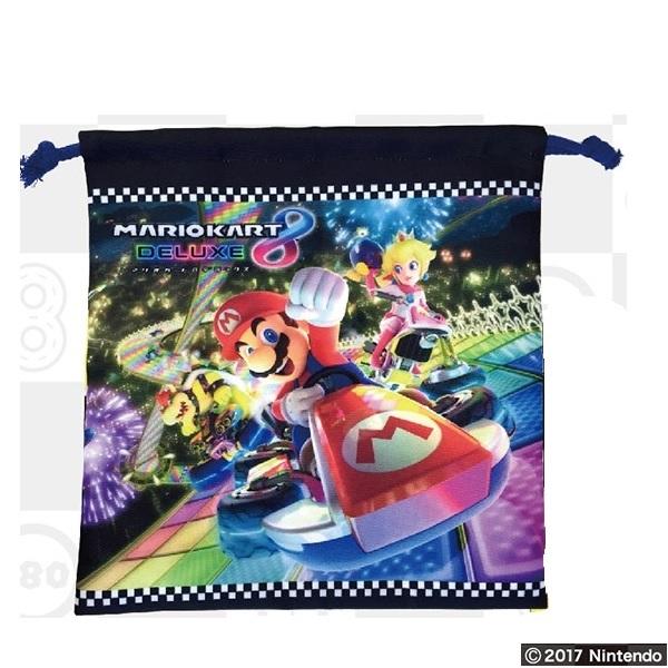 【早得】【予約】【新入学準備用品】【スーパーマリオ】キンチャクM マリオカート8DX
