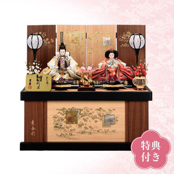 【WEB早得】【寿慶】色彩桜親王収納飾り