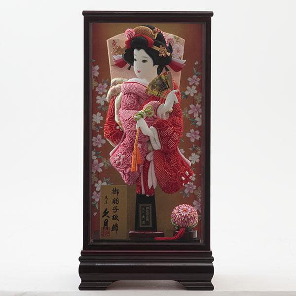 【久月】祇園金彩 羽子板ケース飾り