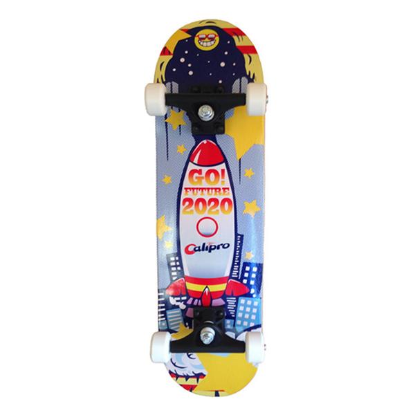 28インチスケートボード(ブルー)