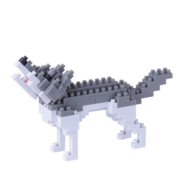 【nanoblock】 オオカミ