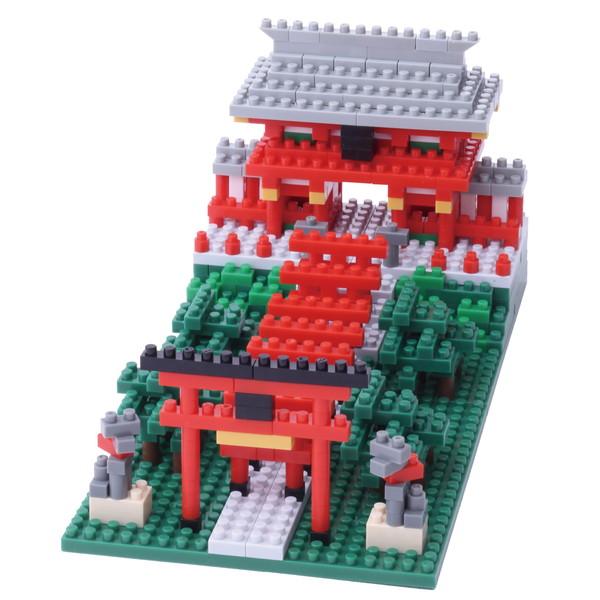【nanoblock】 稲荷神社