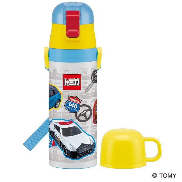 【早得】【予約】【新入学準備用品】【トミカ】超軽量2WAYステンレスボトル トミカ