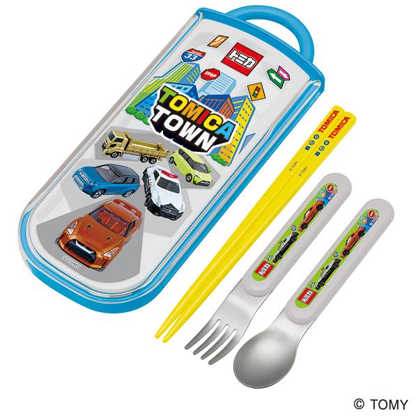 【早得】【予約】【新入学準備用品】【トミカ】食洗機対応スライド式トリオセット トミカ