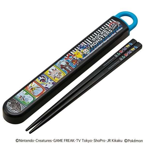 【早得】【予約】【新入学準備用品】【ポケモン】スライド式箸箱セット ポケモン