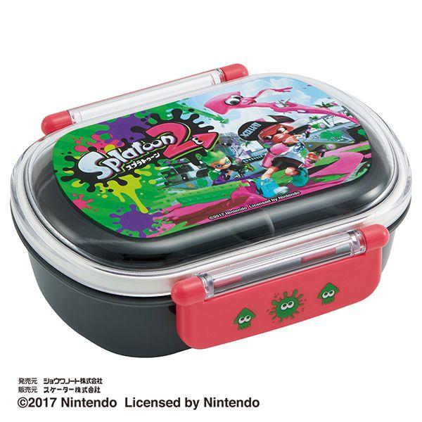 【早得】【予約】【新入学準備用品】【スプラトゥーン】食洗機対応タイトランチBOX スプラトゥーン2