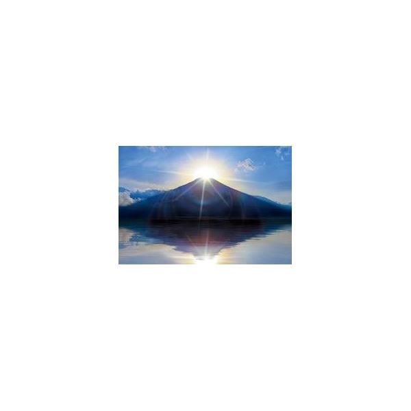 絶景 ダイヤモンド富士—山梨