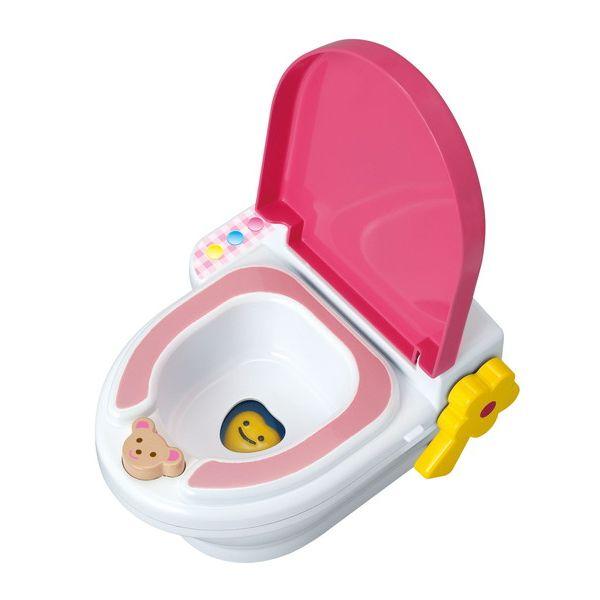 <イオンのキッズ通販> キャラクターのメルちゃんといっしょにおトイレ