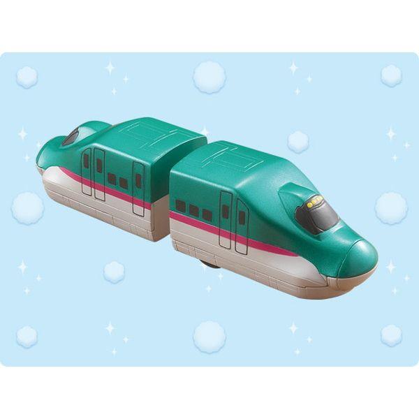 <イオンのキッズ通販> お風呂用品なら 水陸両用トレイン E5系新幹線はやぶさ画像