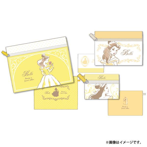 【ディズニー】プリンセス3レンポーチデッサンベル