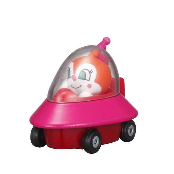 知的玩具なら アンパンマンミュージアム GOGOミニカー ドキンUFOとドキンちゃん
