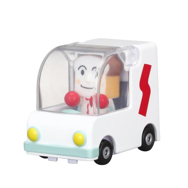 知的玩具なら アンパンマンミュージアム GOGOミニカー しょくぱんまんごうとしょくぱんまん
