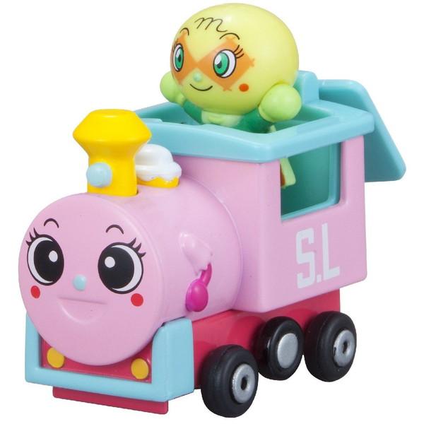 <イオンのキッズ通販> 知的玩具なら アンパンマンミュージアム GOGOミニカー ポッポちゃんとメロンパンナちゃん