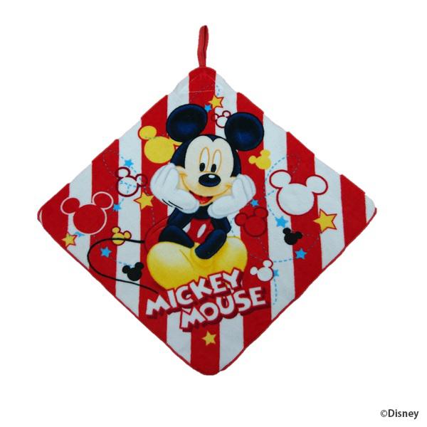 【早得】【予約】【新入学準備用品】【ミッキー】ループタオル ミッキー クツロギミッキー
