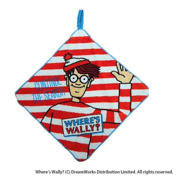 【早得】【予約】【新入学準備用品】【ウォーリー】ループタオル ウォーリー ハローウォーリー