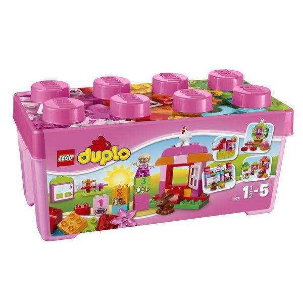 【レゴ】10571 デュプロ・ピンクのコンテナデラックス