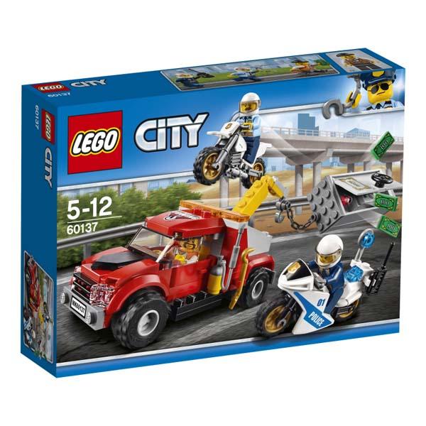 レゴ(R)シティ 金庫ドロボウのレッカー車 60137