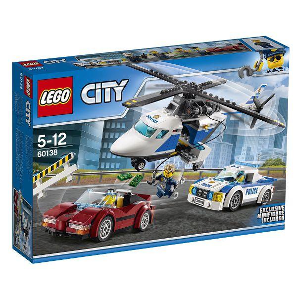 レゴ(R)シティ ポリスヘリコプターとポリスカー 60138