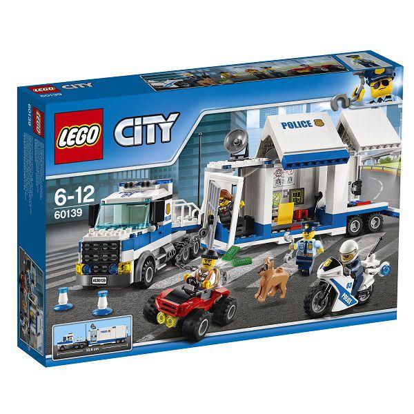 レゴ(R)シティ ポリストラック司令本部 60139