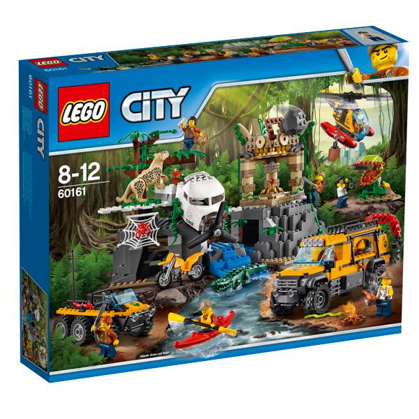 レゴ(R)シティ ジャングル探検隊 60161