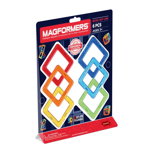 【ボーネルンド】マグフォーマー 正方形セット