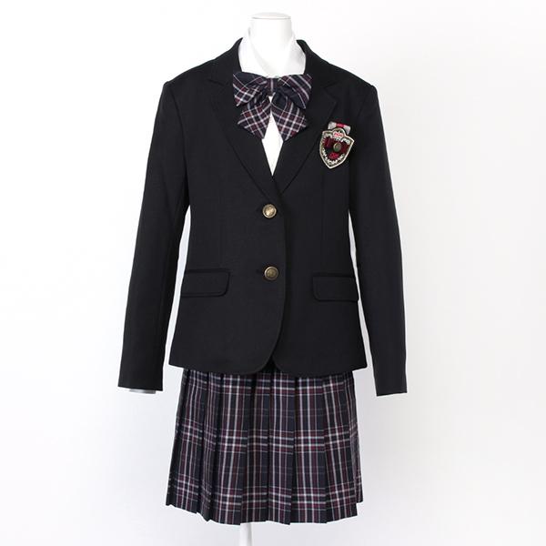 2fcd1ab184935 2ツ釦ブレザースーツ クロ 女の子 フォーマル フォーマルウェア 6771-2580