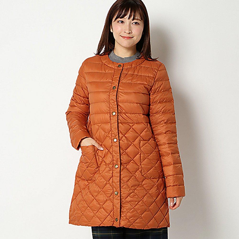 【PART2 BY JUNKO SHIMADA】洗えるポケッタブルダウンコート(レディース) オレンジ