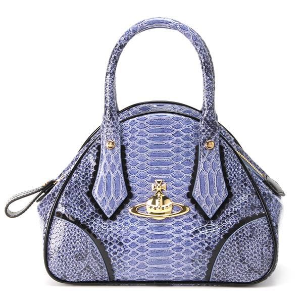 【Vivienne Westwood】ハンドバッグ(レディース) ブルー
