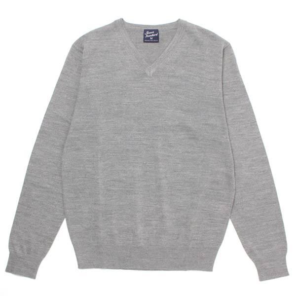 SALE ウォッシャブルVネックセーター(メンズ) ウスクロ