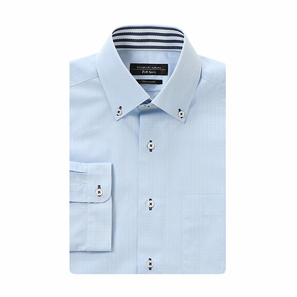 8c9ec136f4f75 hiromichi nakano ヒロミチナカノ 七分袖デザインドレスシャツ(メンズ)